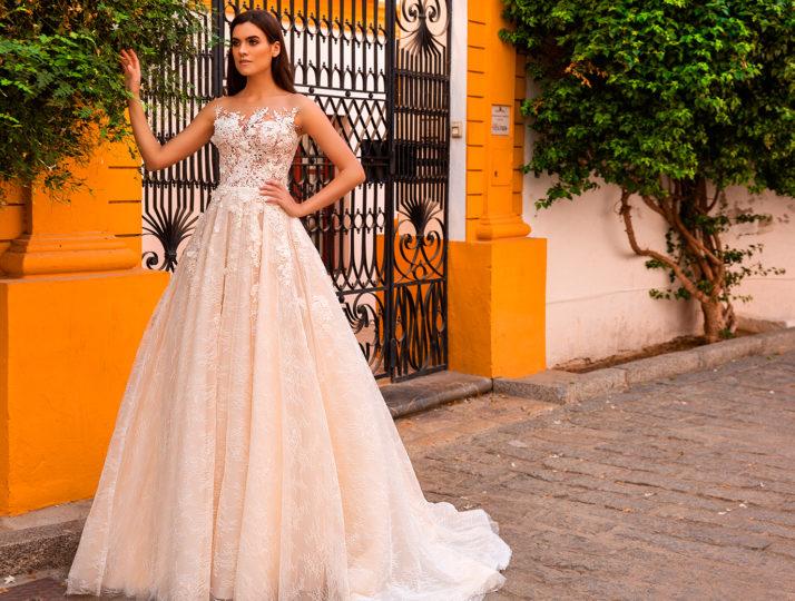 Свадебные платья коллекции Sevilla Campaign by Crystal Design