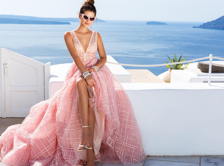 Вечерние платья Santorini Campaign by Crystal Design